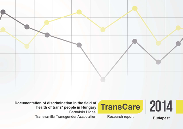 Trans care report cover